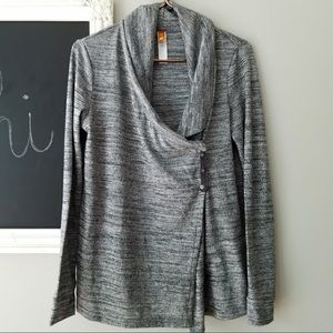 Lucy Heather Gray Snap Everywhere Top